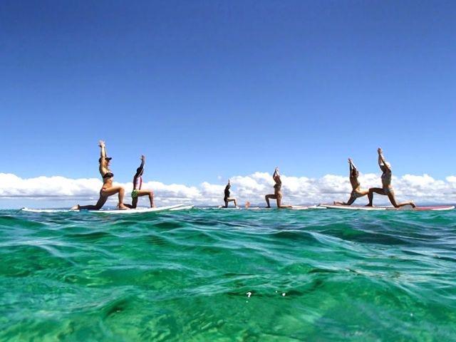Euphoric Threads' Euphoric Escapades in Fiji - Stand Up Paddle Boarding Fiji Beachouse