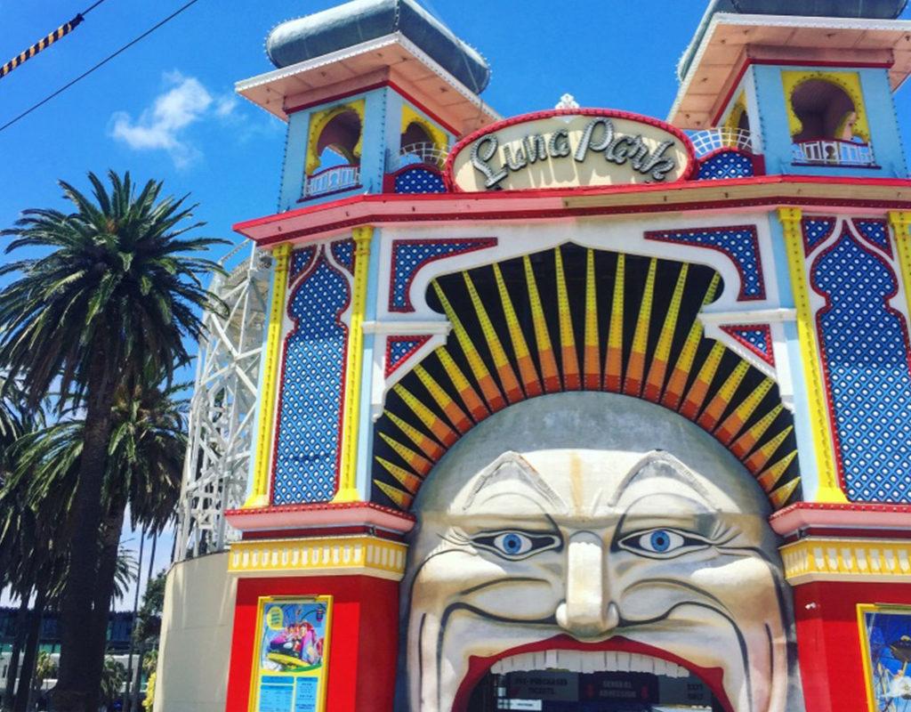 Melbourne Luna Park - EuphoricThreads' Euphoric Escapades - Australia Adventures